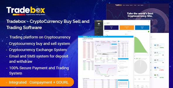 Tradebox 5.8 Nulled - CryptoCurrency Buy Sell and Trading Software