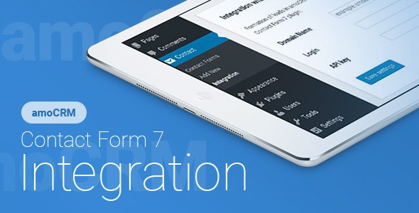 Contact Form 7 - amoCRM - Integration 2.4.9 Nulled