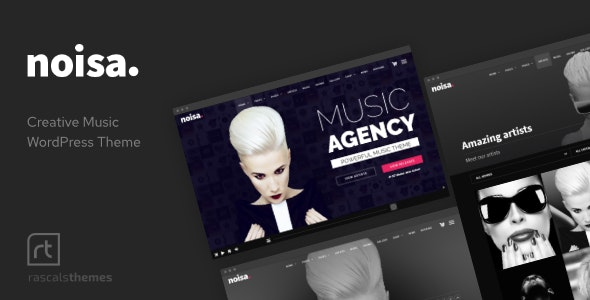 Noisa 2.5.6 - Music Producers, Bands & Events Theme for WordPress