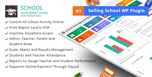 School Management System for WordPress 74.0 Nulled