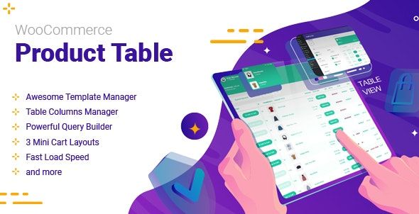 WooCommerce Product Table 2.1.1