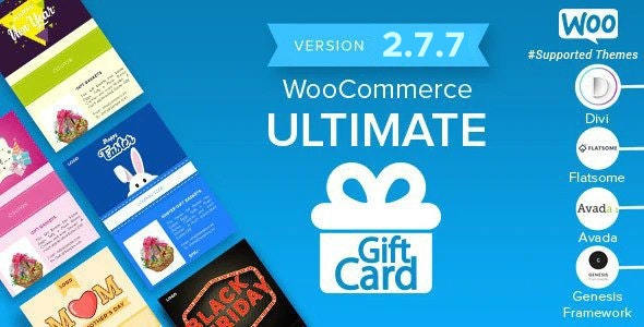 WooCommerce Ultimate Gift Card 2.7.7