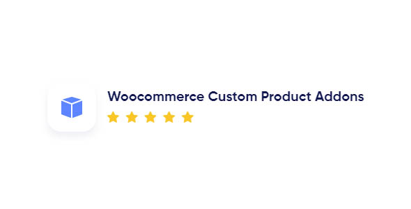 Woocommerce Custom Product Addons 3.9.8 Nulled