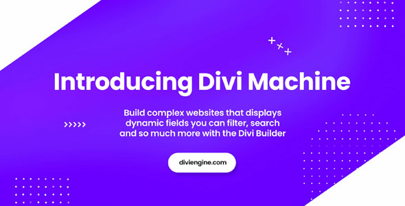 Divi Machine 3.0.1 - Toolkit for Adding and Creating Dynamic Content