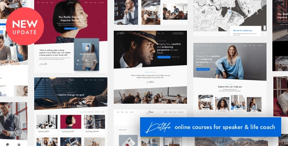 DotLife 3.5.3 Nulled - Coach Online Courses WordPress