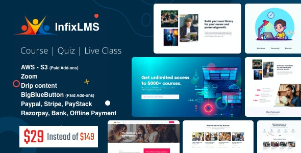Infix LMS 2.0.1 Nulled - Learning Management System