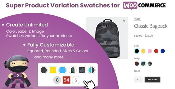 Super Product Variation Swatches for WooCommerce 1.9