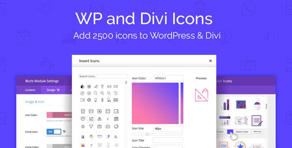 WP and Divi Icons Pro 1.4.4 – Icon Plugin for WordPress & Divi – WeaDown