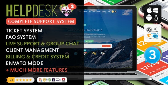 HelpDesk 3.6 Nulled - The professional Support Solution