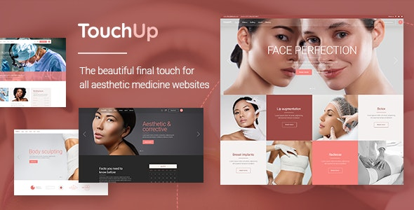 TouchUp 1.2 - Cosmetic and Plastic Surgery Theme