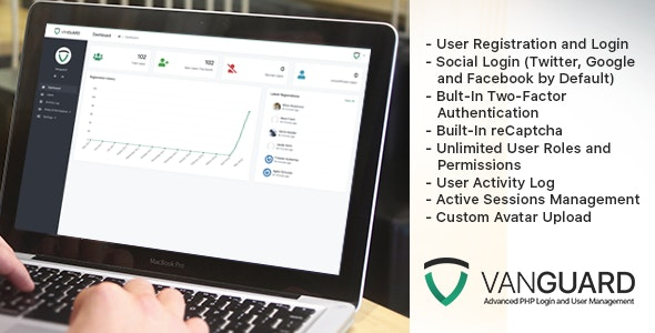 Vanguard 6.0.0 - Advanced PHP Login and User Management