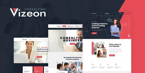 Vizeon 1.0.2 - Business Consulting WordPress Themes