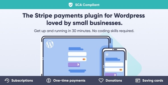 WP Full Stripe 5.5.5 - Subscription and payment plugin for WordPress