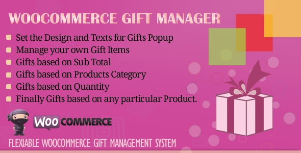 WooCommerce Gift Manager 3.0